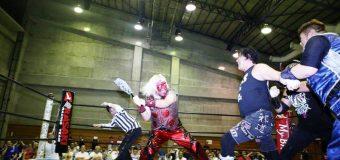 【FMW】強行出場の大仁田が爆破地獄から生還果たし、8月2日に右腕手術へ!