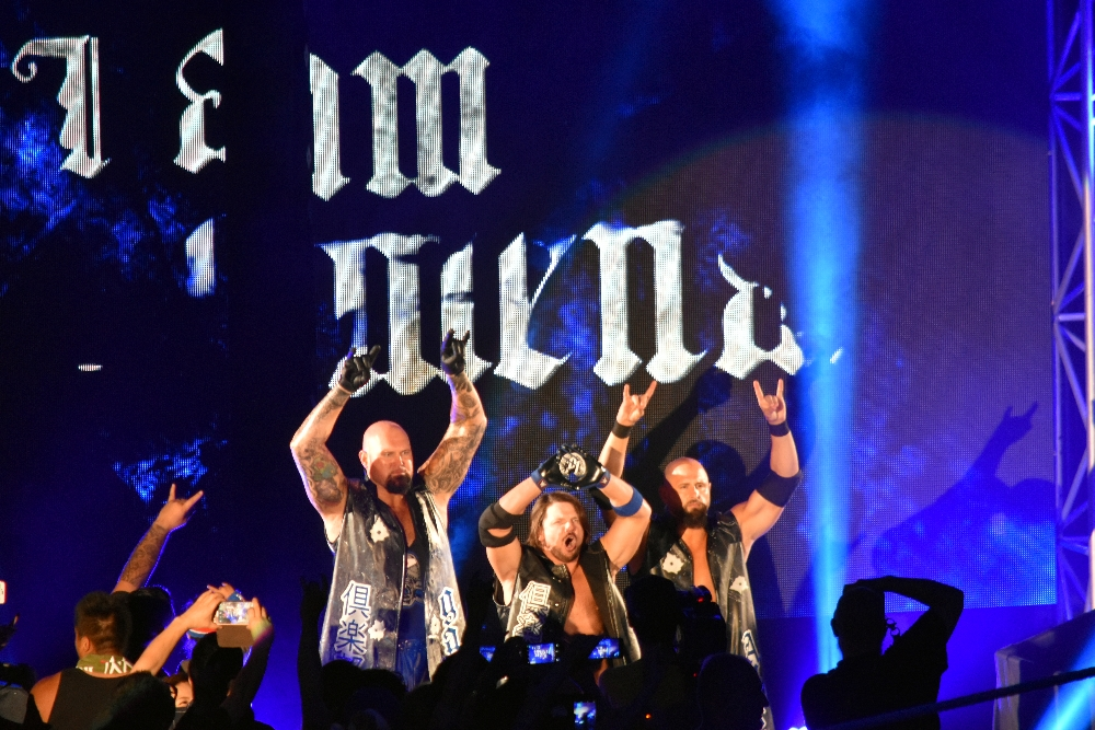 【WWE】 日本公演「WWE Live Japan」両国大会2日目(2016.7.2)