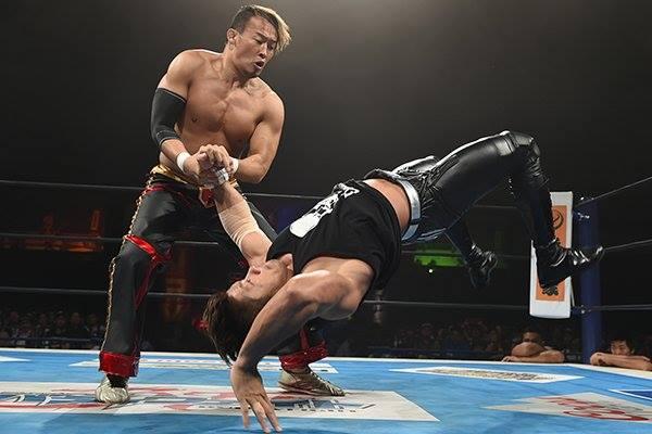 【新日本プロレス】「アイツは間違いなく、プロレス界の未来」 公式戦で勝利した丸藤が、SANADAの将来性について言及!