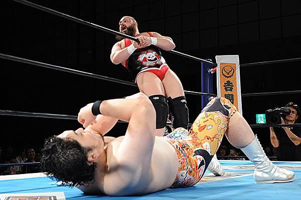 【新日本プロレス】『G1』公式戦で矢野とエルガンが対決! エルガンが「ブレイク」コール!?