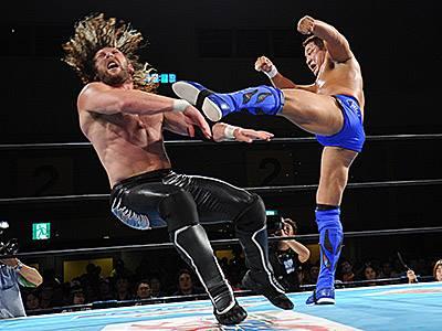 【新日本プロレス】永田とオメガがサバイバルマッチで好勝負!