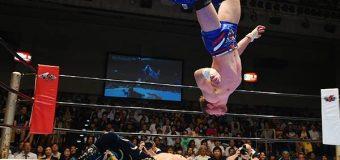 """【新日本プロレス】ウィル・オスプレイ「俺は""""ヒストリーメーカー、『SUPER J-CUP』でも新たな歴史を作る!」"""