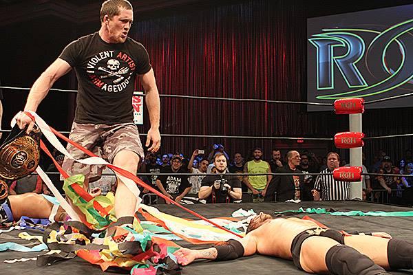 【新日本プロレス】ROH世界選手権試合はコールがリーサルを下して王座奪取! しかし、オライリーが手荒い挑戦表明! 8月19日(金)ROHラスベガス大会