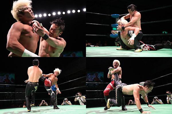【プロレスリング・ノア】拳王真っ向撃破 V4金丸が小峠指名でノアJr総ナメ宣言