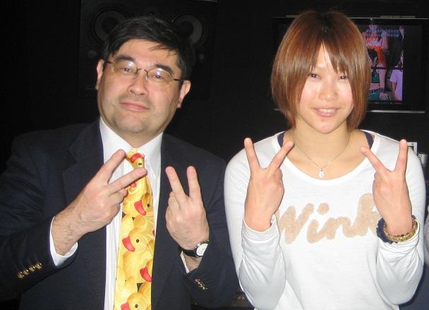 ネクタイブログに元「東洋の天使」栗原あゆみさんが登場