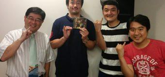 ネクタイブログに「道標明」田口隆祐が登場。セイシュン・ダーツ青木、ジグザグジギー宮澤と一緒に「みちしるべ」を大合唱