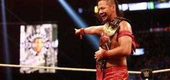 【WWE】中邑真輔が初戴冠!!「NXTテイクオーバー:ブルックリンⅡ」