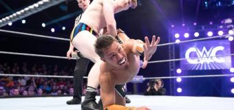 【WWE】 クルーザー級クラシック・トーナメント(CWC)第6回放送がWWEネットワークで放送され、2回戦に進出した戸澤陽選手が登場!!