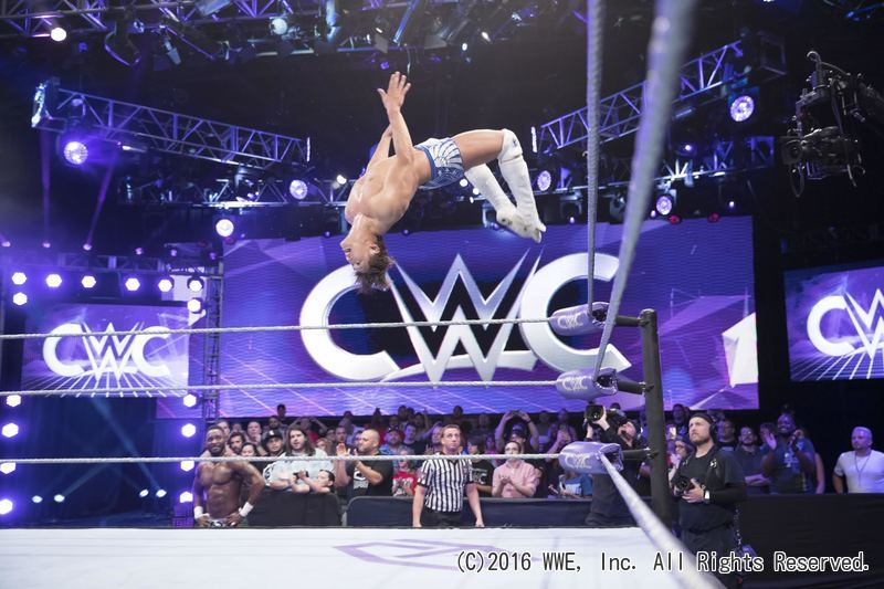 【WWE】◆WWE クルーザー級クラシック・トーナメント(CWC)TAJIRI選手、飯伏幸太選手が登場!!