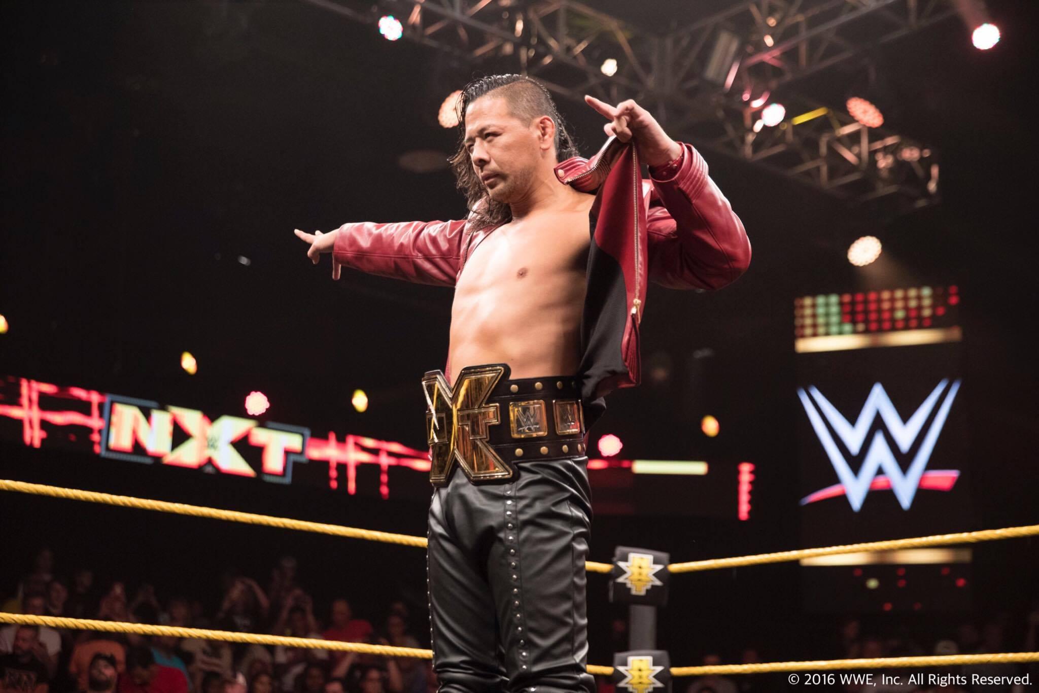 【WWE】2016年12月3日、ついにNXTが大阪に日本初上陸!「NXT Live Japan」開催決定!中邑真輔、ヒデオ・イタミ、アスカ参戦!