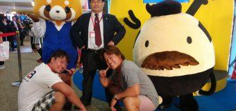 「スマイルヤンキー」HARASHIMA&宮本裕向がネクタイブログでヤンキー座り