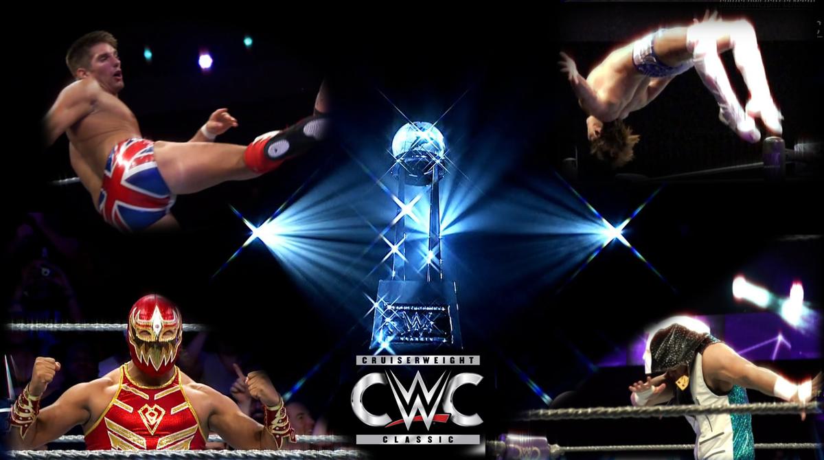 【WWE】≪クルーザー級クラシック≫準決勝、決勝ライブ配信決定!! 日本からは @ibushi_kota 選手が勝ち残っている CWC が 9/15にWWEネットワークから2時間ライブ配信されることが決定!!