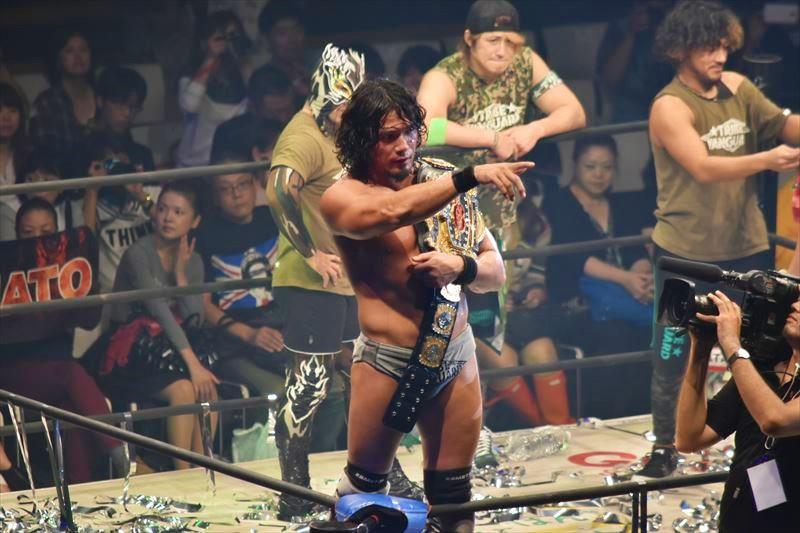 【ドラゴンゲート】ドリームゲート王座戦は熱戦の末、YAMATOが戸澤を下し初防衛に成功!更なる高みを目指す!!