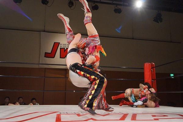 【JWP女子プロレス】9・22日両国大会!ベストフレンズ再始動は白星! vs仙女3番勝負は2勝1敗でJWP勝ち越し!