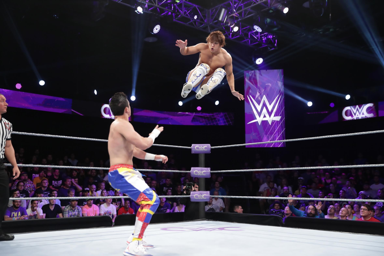 【WWE】飯伏準決勝敗退、T.J.パーキンスがクルーザー級 クラシックトーナメント優勝を果たす!!