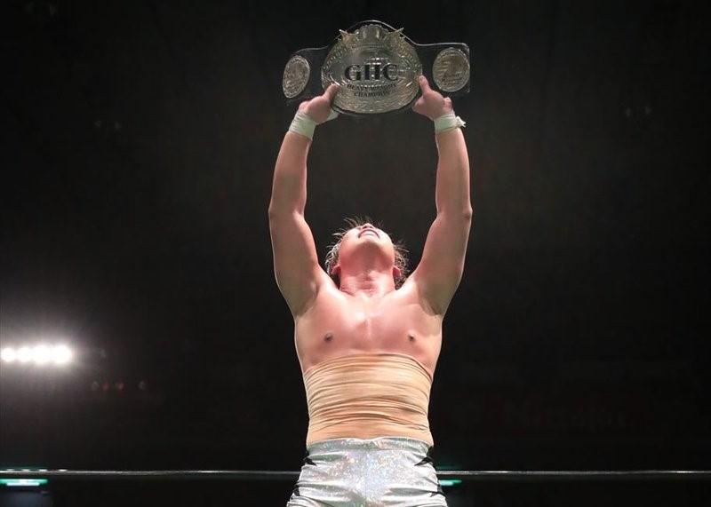 【プロレスリング・ノア】ノアに新時代の扉が開く!30分を超える死闘の果てに中嶋が杉浦に激勝、第28代GHC新王者となる!!