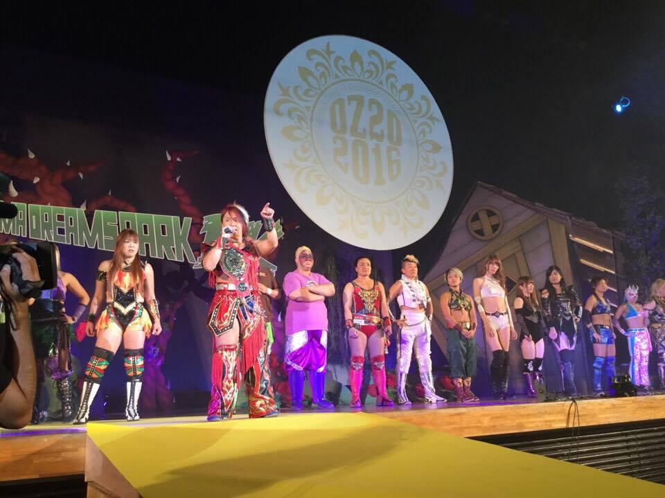 【OZアカデミー女子プロレス】11・13 ~YOKOHAMA DRAMS PARK DK~オープニング・試合写真掲載!