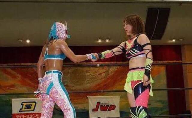 【JWP女子プロレス】退団を発表した中島安里紗とコマンド・ボリショイのスペシャルシングルマッチが決定!