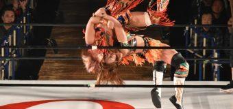 【OZアカデミー女子プロレス】11・13 OZアカデミー認定無差別級選手権は松本浩代が新王者に!戦いを連続写真にて振り返る!