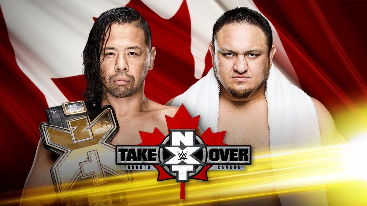 【WWE】≪NXTテイクオーバー:トロント≫ @ShinsukeN VS. @SamoaJoe まであと6日! WWEネットワークから11/20(日)ライブで配信!!