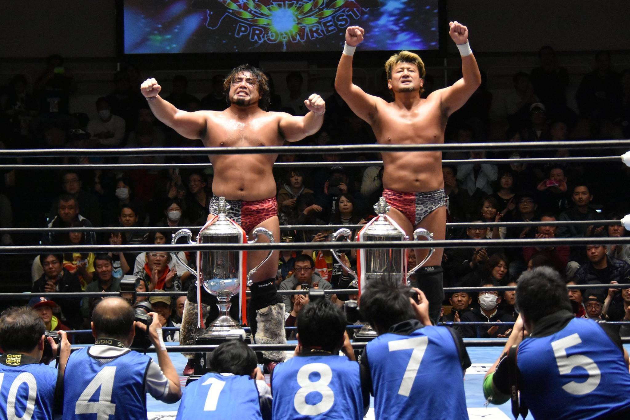 【全日本プロレス】復活GET WILDが最強タッグ4年ぶりV、史上3度目の全勝優勝!