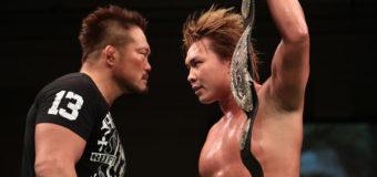 【プロレスリング・ノア】第28代GHC王者 中嶋が北宮の猛攻を受止め2度目の防衛を飾る!試合後、杉浦がリングで挑発!!