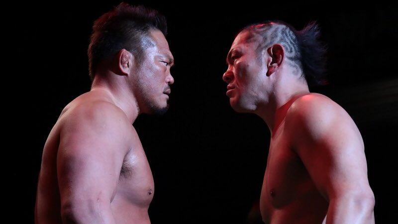 【プロレスリング・ノア】杉浦vs鈴木は壮絶な果し合いに!「現状甘んじてるヤツたくさんいるだろ。まず自分で動け(杉浦)」12・3(土)ディファ有明 試合後コメント
