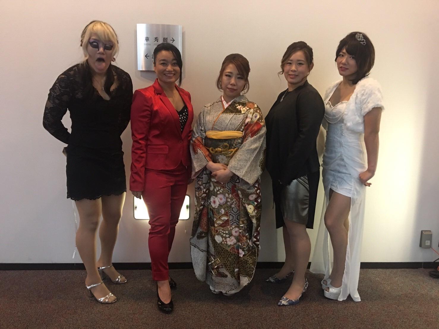 【センダイガールズプロレスリング】仙女&DASH・チサコ10周年記念パーティーが行われ150人の参列者より祝福を受ける
