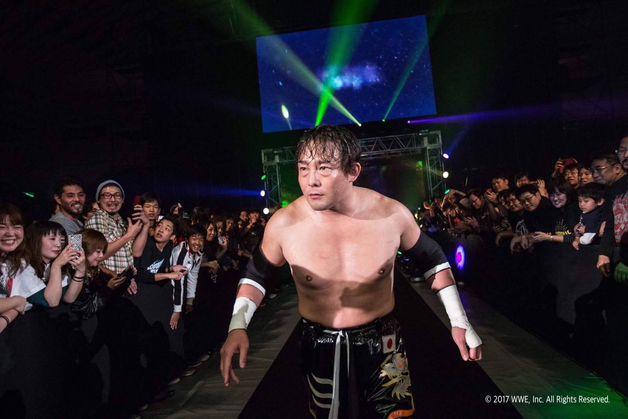【WWE】TAJIRIがWWEにクルーザー級部門の新たな一員として正式参戦!