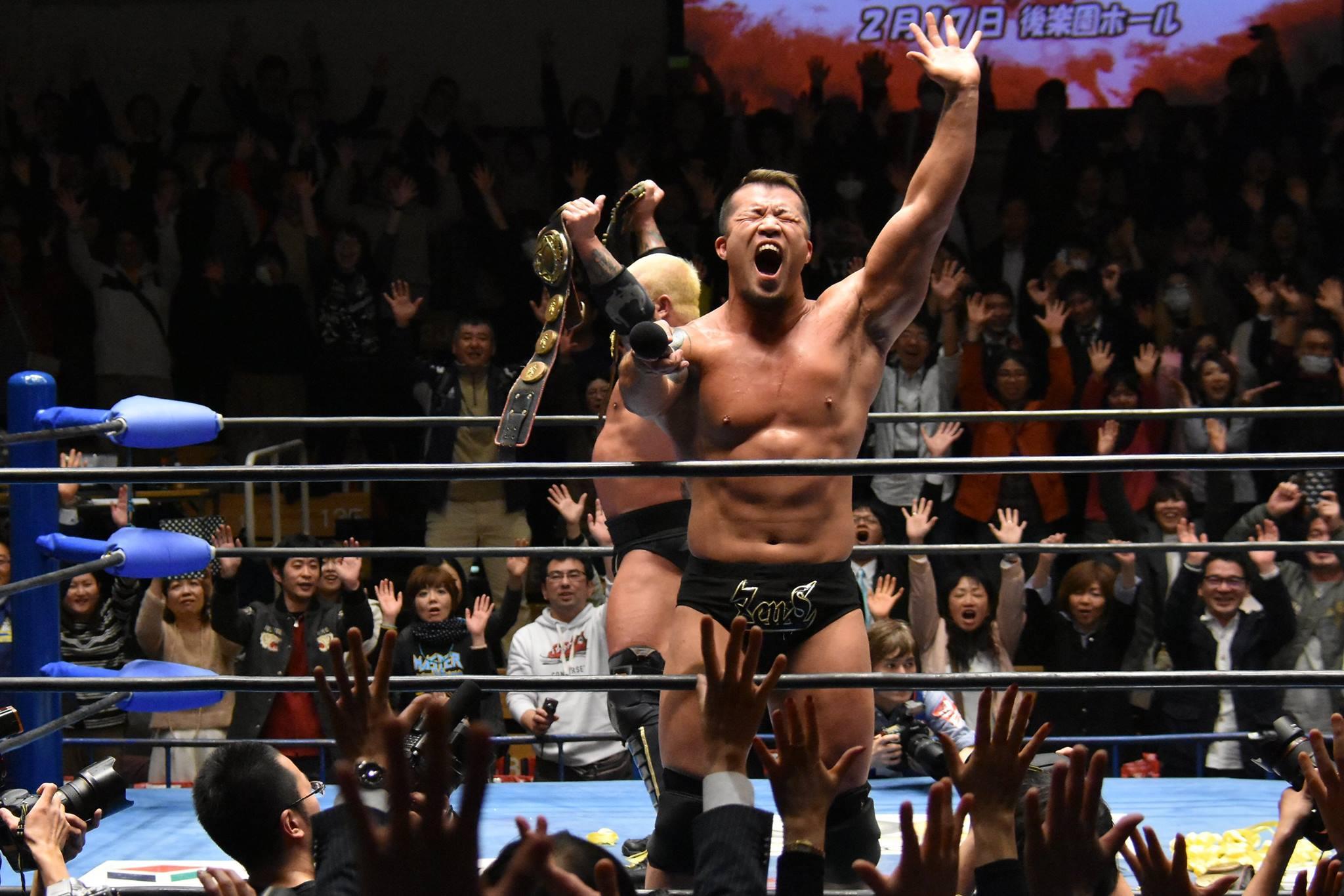 【全日本プロレス】ザ・ビッグガンズが世界タッグV2! ボディガー5冠王手!!