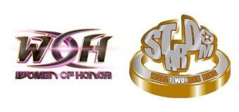 【スターダム】スターダムとROHが業務提携!  アメリカのROHより女子プロレス部門WOH(ウィメン・オブ・オナー)が3月18日、ペンシルベニア州ブリストールのROH道場でプロ選手を対象としたトライアウトを実施。