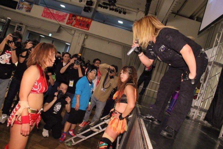 【SEAdLINNNG】3・16日(木)後楽園大会で世志琥vsSareeeの因縁の二人のシングルマッチ決定!