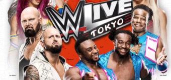 【WWE】WWE日本公演「WWE Live Tokyo」 4月15日(土)一斉発売開始!!