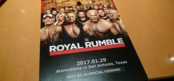 【プロレス日記】WWEロイヤルランブル