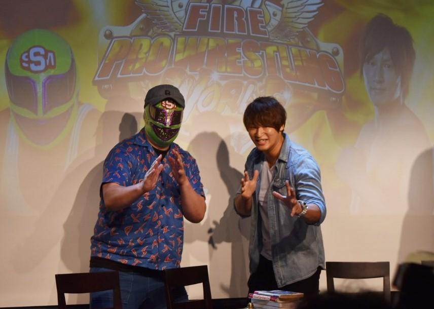 【ファイプロ復活祭!】最新作「FIRE PRO WRESTLING WORLD」の2017年7月11日発売を発表!飯伏幸太、スーパー・ササダンゴ・マシンも熱狂!