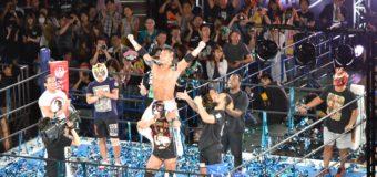 【新日本プロレス】『BEST OF THE SUPER Jr.24』優勝決定戦はKUSHIDAがオスプレイとの大死闘を制し、2年ぶり二度目の優勝!!<6.3代々木結果>