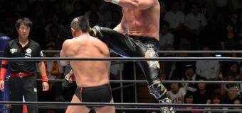 【新日本プロレス】「G1 CLIMAX 27」Bブロック公式戦 鈴木みのるとの王者対決制す、オメガが2連覇へ好発進!
