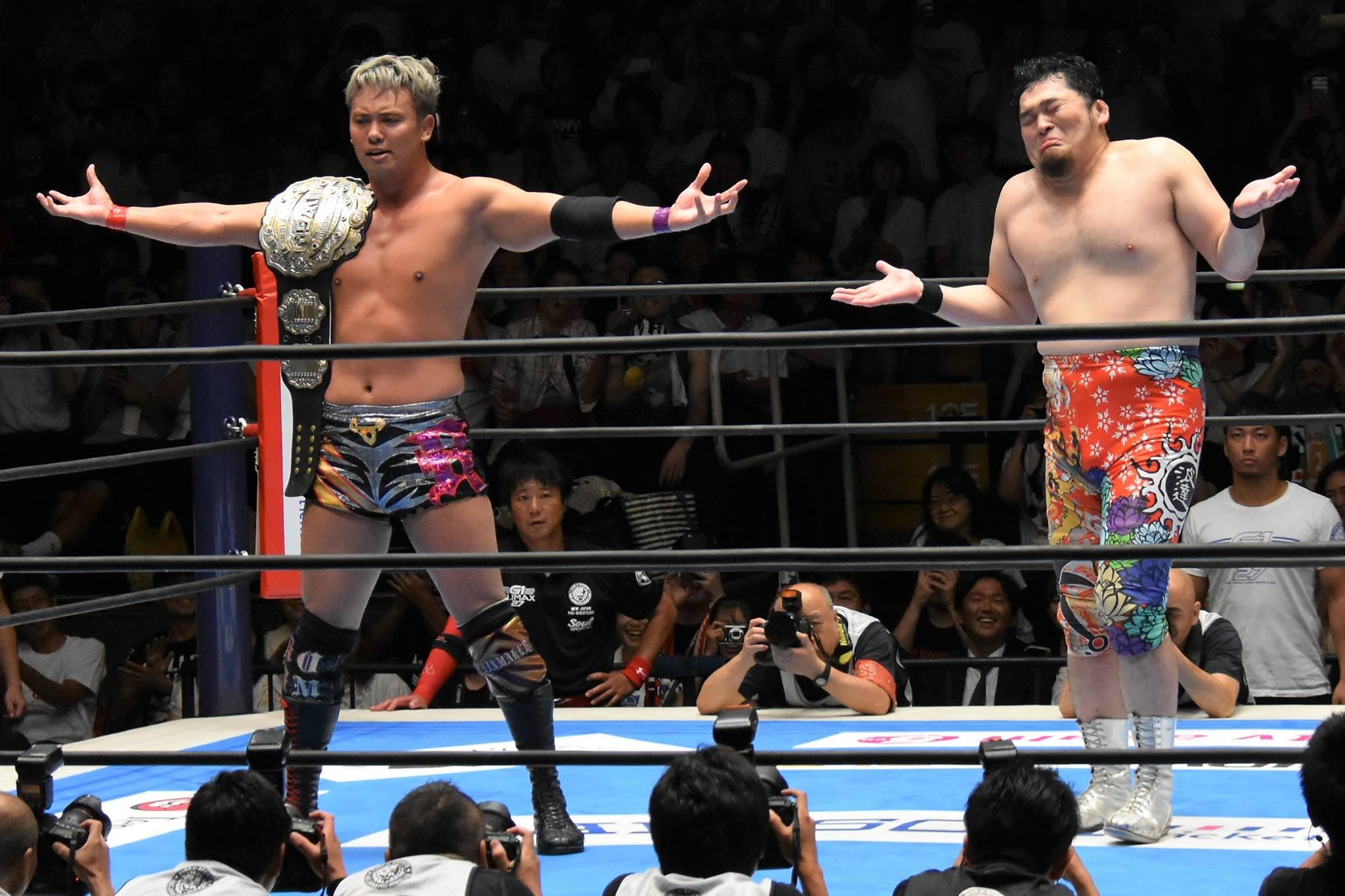 【新日本プロレス】「G1 CLIMAX 27」Bブロック公式戦 CHAOS同門対決はオカダが策士矢野からレッドインクでギブアップを奪う!