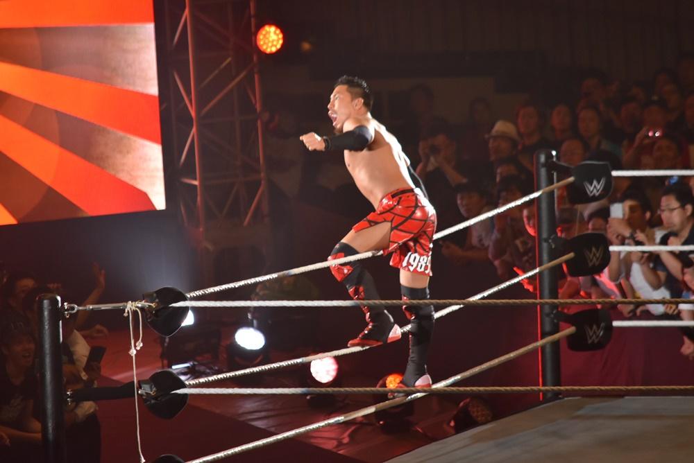 【WWE Live Tokyo】<7.1両国>アキラ・トザワ2日連続のWWEクルーザー級王座挑戦も勝利ならず!