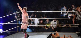 【WWE Live Tokyo】<6.30両国>ヒデオ・イタミ凱旋勝利ならず!ジェリコが必殺技でギブアップを奪う!!