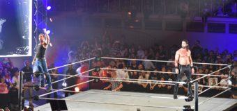 【WWE Live Tokyo】<6.30両国>セス・ロリンズ&ディーン・アンブローズのスーパースターが競演!くせ者ミズを仕留める!!