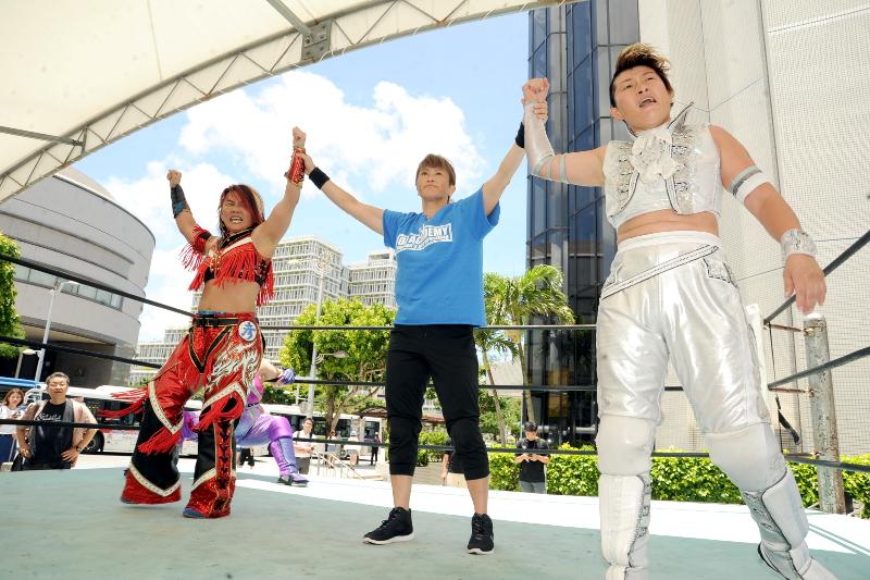 【OZアカデミー女子プロレス】7.8~那覇の日記念、デパートリウボウにOZアカデミーがやってくる~試合結果!