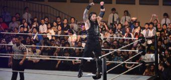 【WWE Live Tokyo】<6.30両国>これぞWWEスーパースターの闘い!レインズがワイアットとの肉弾戦を制す!!