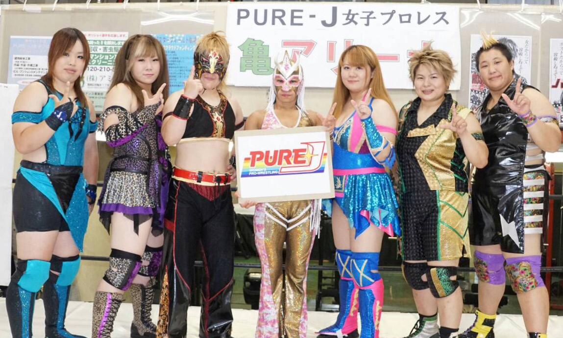 【PURE-J女子プロレス】8.11 PURE-J女子プロレス旗揚げ戦追加決定カード発表!