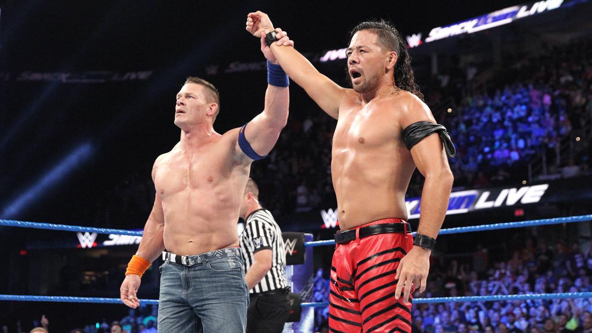 【WWE】中邑がジョン・シナに勝利し、WWE王座挑戦権獲得