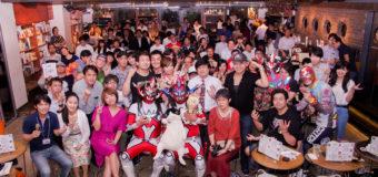 【超満員御礼】<第4回ストロングトークLIVE>120名を超える参加者で大盛況!ゲストの獣神サンダー・ライガー選手も大ハッスル♪(8.23Loft9 Shibuya)