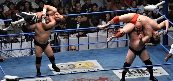 【全日本プロレス】関本&岡林が2度目の世界タッグ戴冠、次期挑戦に秋山&大森名乗り!<8.27両国大会>