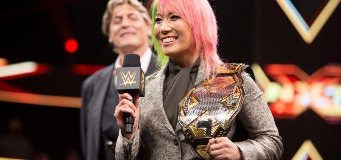 【WWE】アスカ、メインロースター入り交渉開始と、NXT女子王座の返上を発表