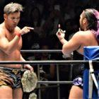 【新日本プロレス】CHAOSとロス・インゴのイリミネーションマッチはEVILEが最後に勝ち名乗りを上げる!そして超人オカダを挑発!!