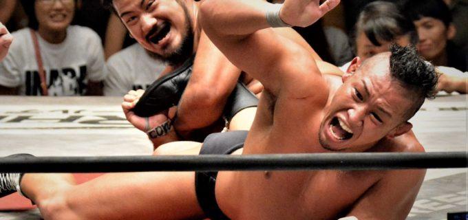 【WRESTLE-1】芦野祥太郎が「ゾンビかと思った」稲葉大樹との激闘を必殺のアンクルロックで制し、5度目の防衛に成功!